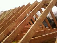Двускатная крыша дома своими руками — пошаговая инструкция с фото и описанием