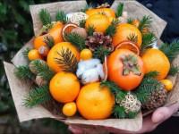 Как сделать букет из мандаринов своими руками: 50 фото-идей создания оригинальных новогодних композиций