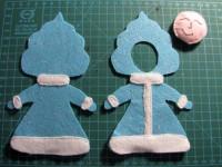 Как сделать снегурочку: делаем поделку из подручных материалов. 110 фото и видео описание создания куклы