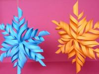 Как сделать снежинку своими руками — оригинальные идеи на фото новинках, самые красивые снежинки для декора в обзоре!