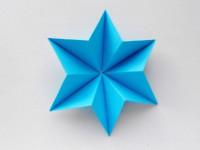 Объемная звезда из бумаги своими руками: мастер-класс с фото, как сделать простую поделку