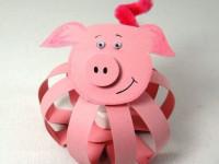 Как сделать свинью своими руками: варианты новогодних поделок и способы создания красивой фигурки (110 фото)