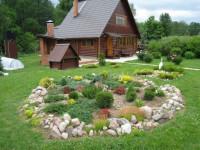 Оформление участка своими руками: современные идеи украшения участка дачи, сада или загородного дома (110 фото и видео)