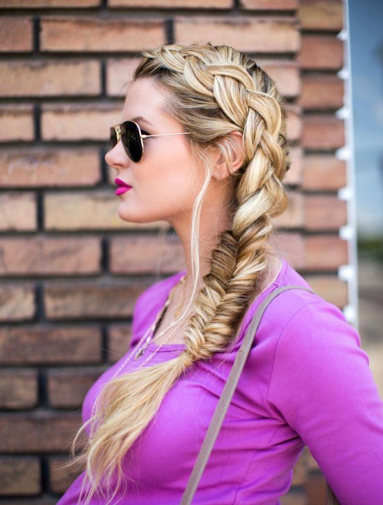прически на длинные волосы с косами в картинках самые