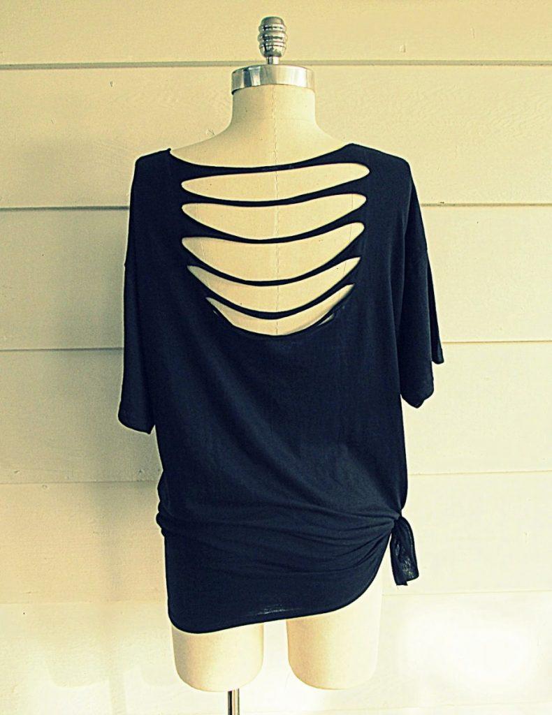 сделать из обычной футболки модную фото юбки символизируют