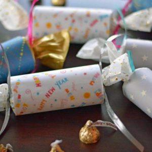 Как сделать хлопушку своими руками — 80 фото-идей новогодних хлопушек с конфетти, блестками. Виды бумажных хлопушек, схемы создания