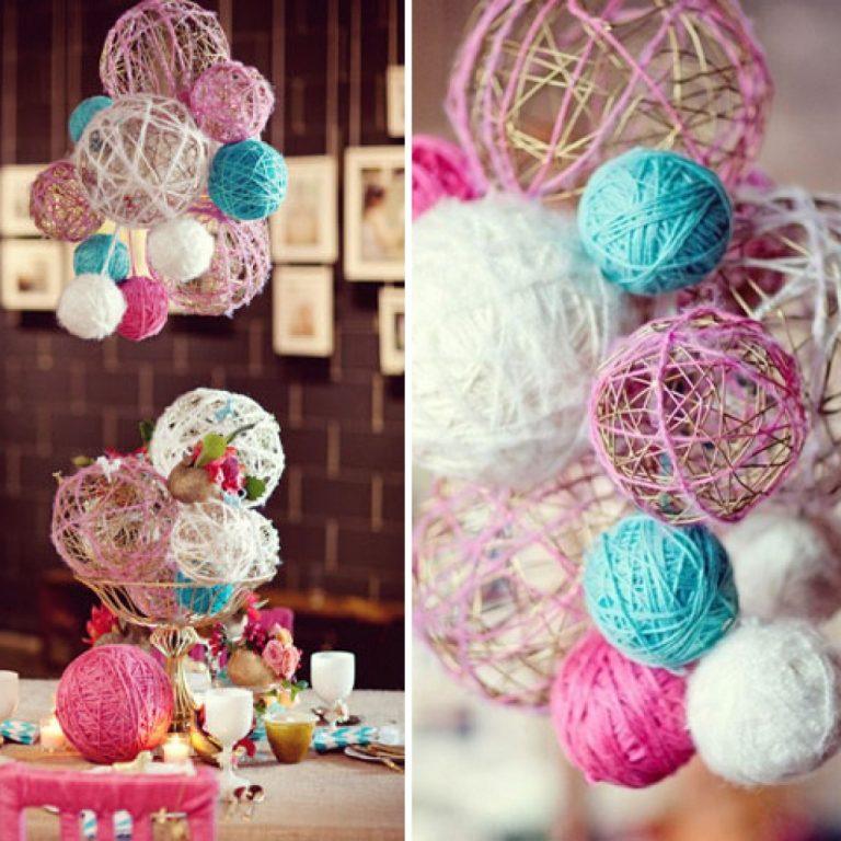 также хорошей фото украсить шарами из ниток состоялась накануне особняке