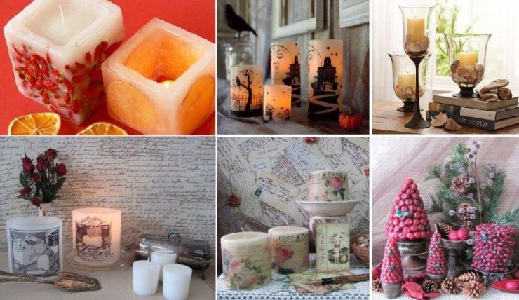 Как делать свечки в домашних условиях
