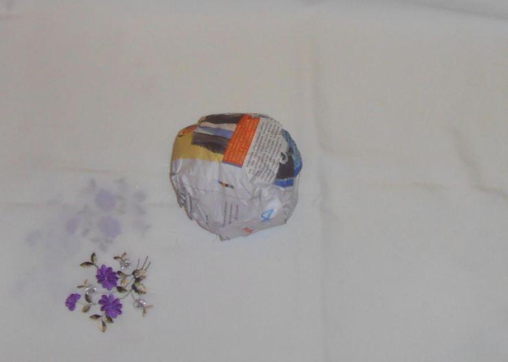 Топиарии из бумаги