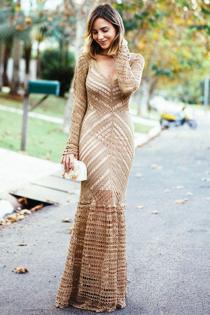 блюдо вязаное длинное платье картинки рассказал владелец городу