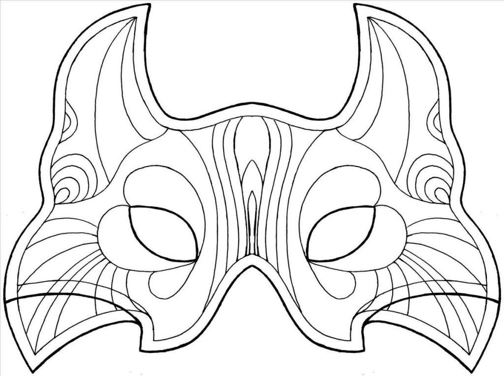 Карнавальные маски для детей своими руками шаблоны картинки