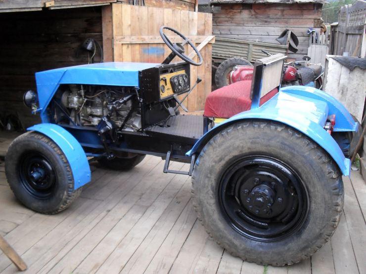 Как собрать трактор в домашних условиях