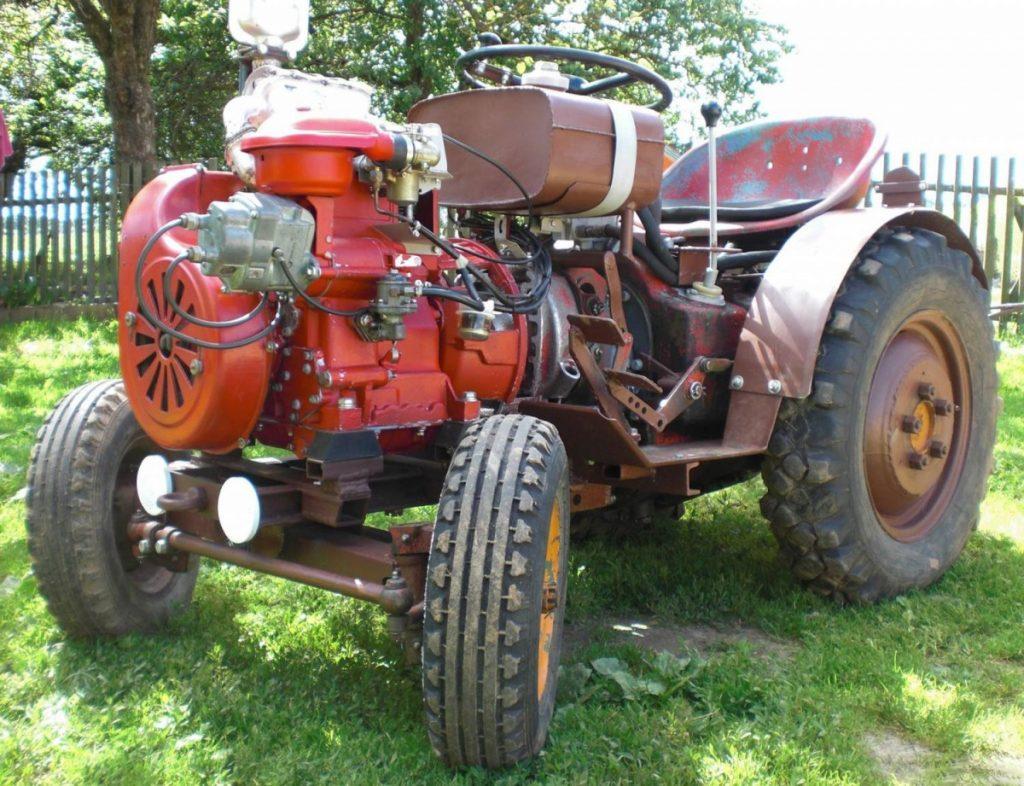 картинки самодельного трактора настоящее время