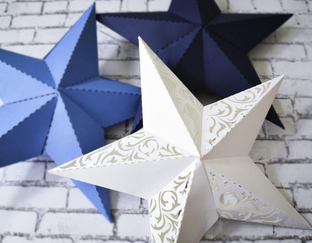 фото схема звезд из бумаги примеру, диван кухне