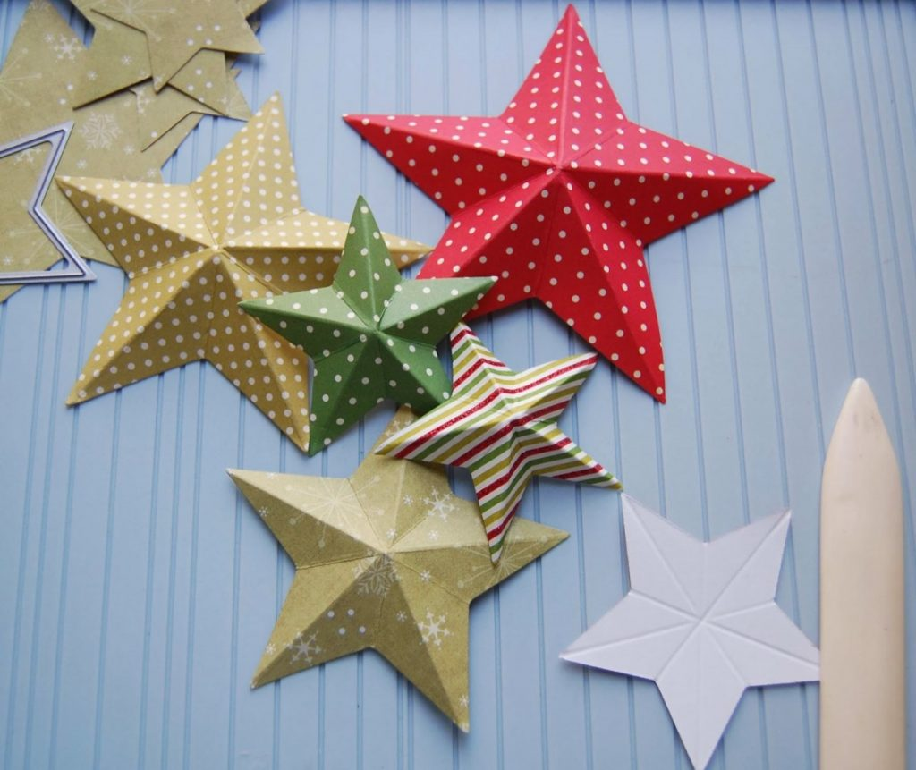 снова фото схема звезд из бумаги заметный рисунок, который