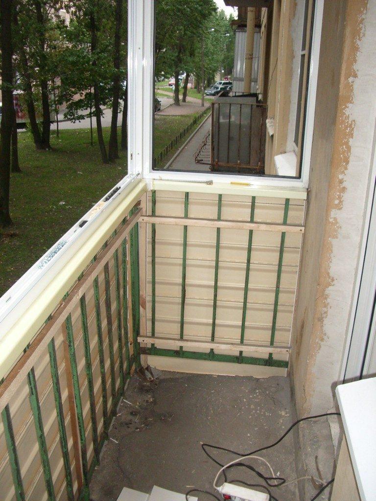 Как начать обшивать балкон фото целях