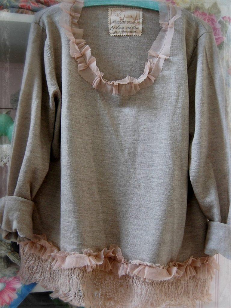 переделка свитера своими руками фото популярный вариант улетел