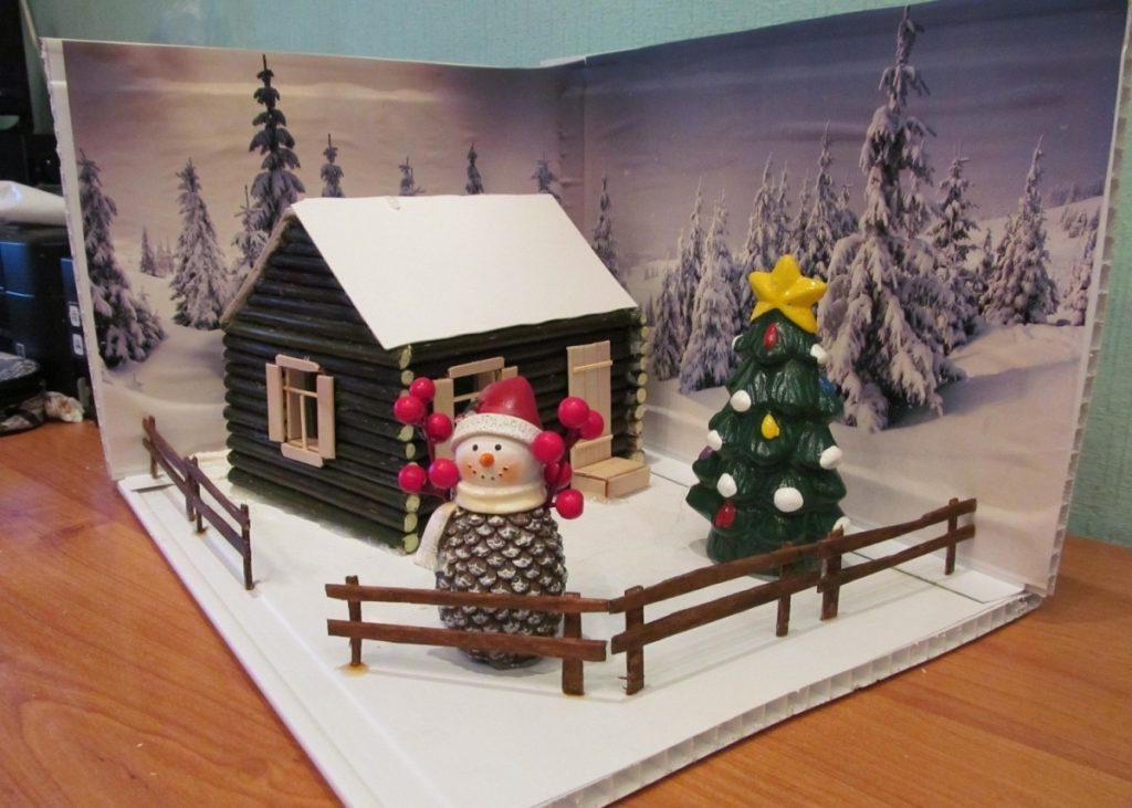 Новогодние картинки поделки в детский сад