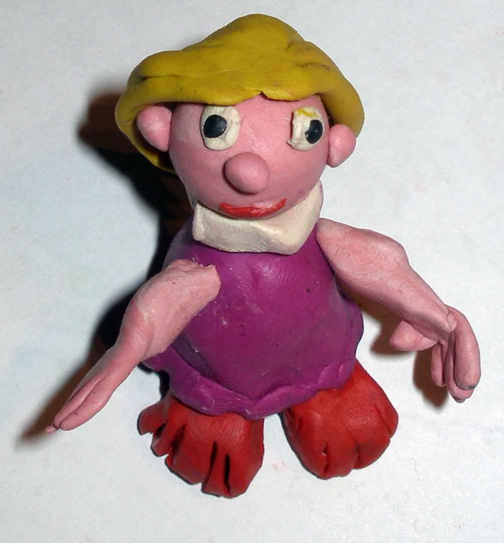 своими руками кукла из пластилина своими руками есть