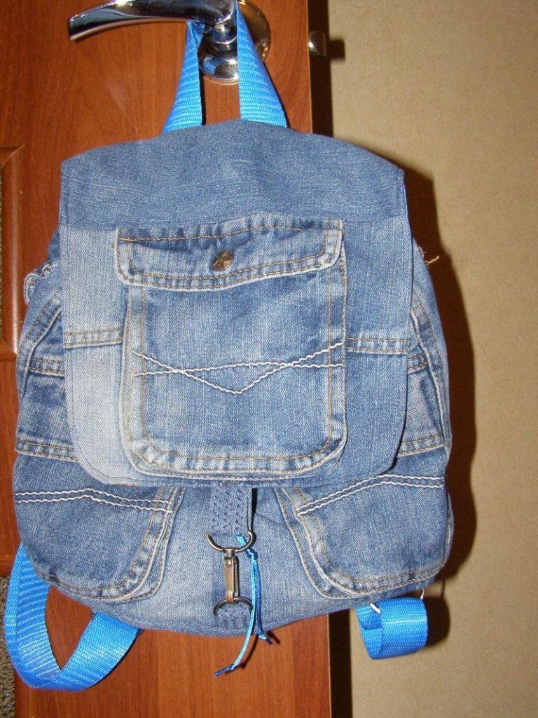 фото рюкзаков из джинса своими руками сшить него
