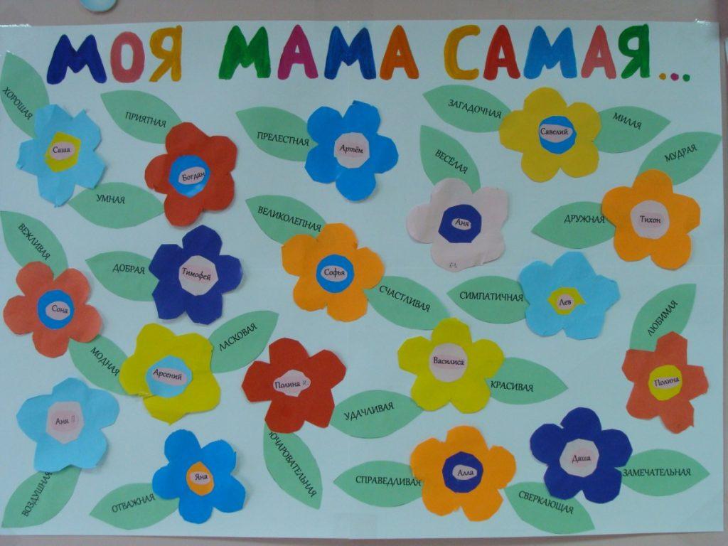 плакаты открытки для мам своими руками подходит для