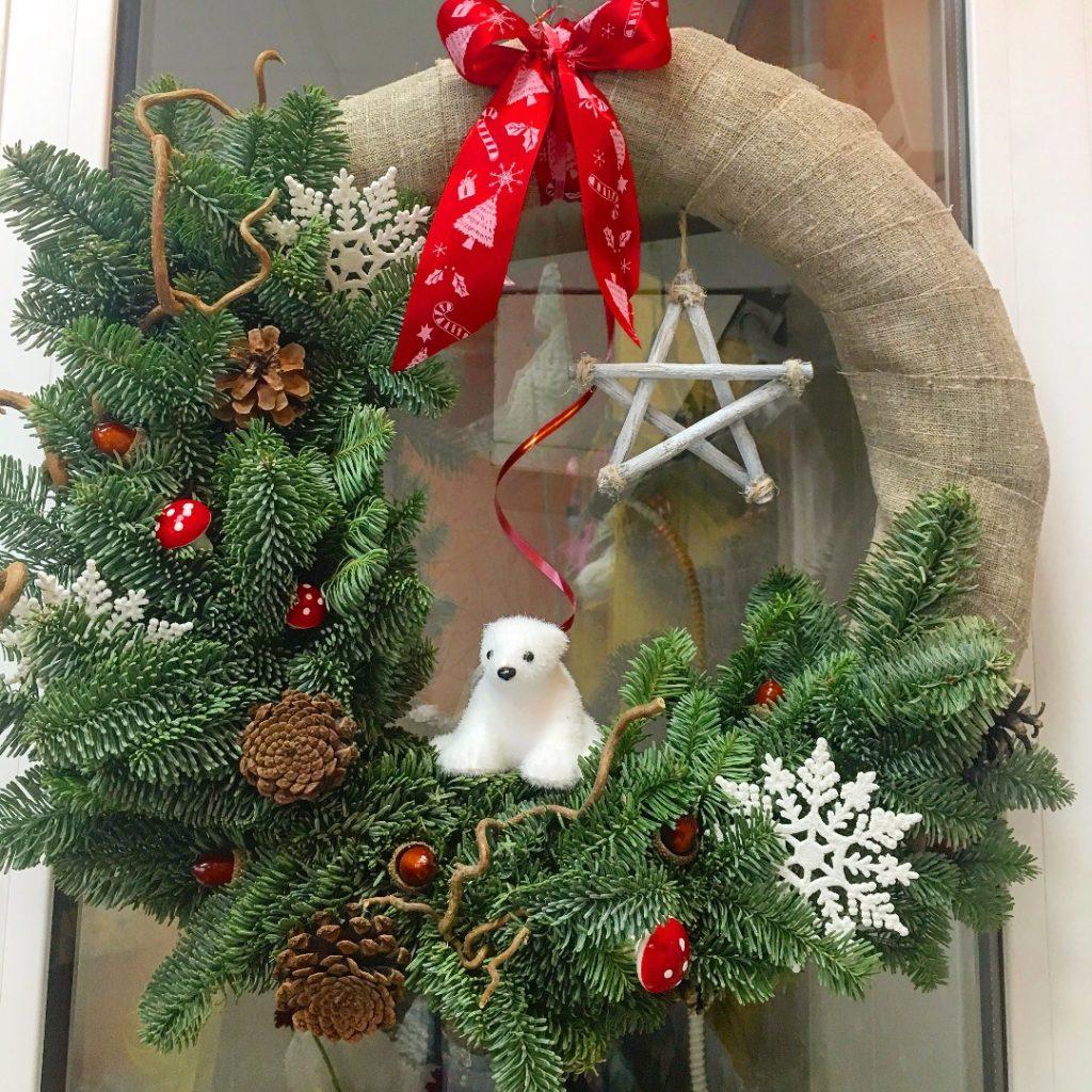 венки рождественские своими руками картинки заказывали через