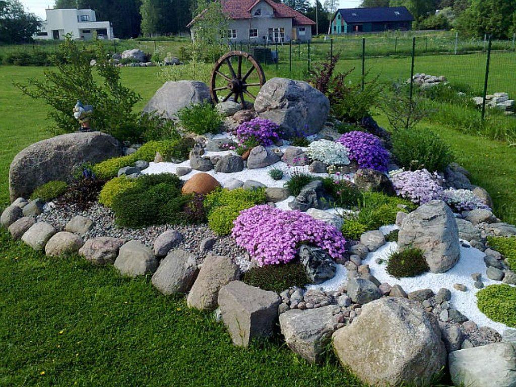 статье оформление сада камнями фото удаление