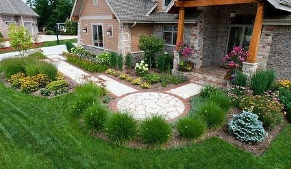 Варианты дизайна садового участка фото для маленькой