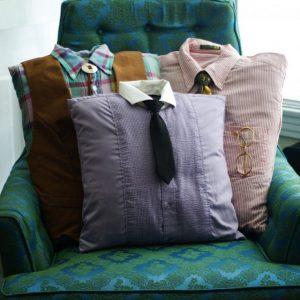 Как сшить диванную подушку своими руками из старых вещей по выкройкам и схемам